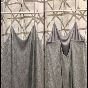 EXPRESS silver cami. X-small. Worn once.